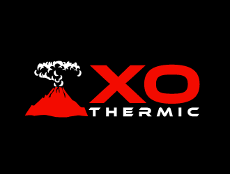 XO Thermic logo design concepts #5