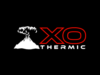 XO Thermic logo design concepts #7