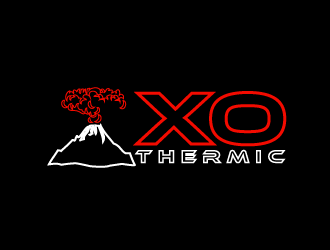 XO Thermic logo design concepts #8