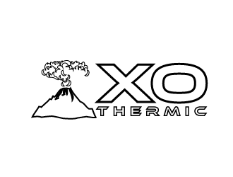 XO Thermic logo design concepts #15