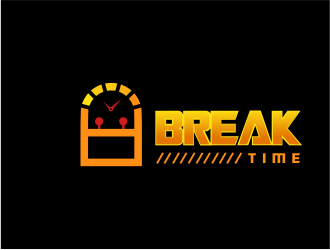 Break Time logo design concepts #3