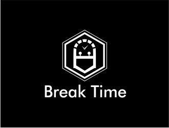 Break Time logo design concepts #4