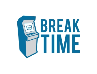 Break Time logo design concepts #5