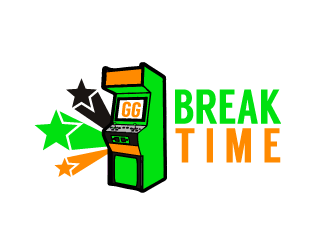 Break Time logo design concepts #6