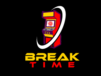 Break Time logo design concepts #1