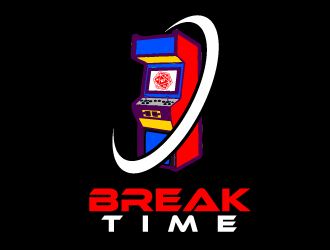 Break Time logo design concepts #2