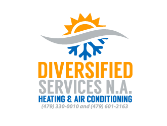 Diversified Services N.A. logo design concepts #8