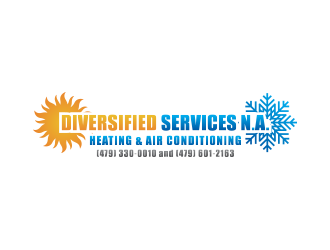 Diversified Services N.A. logo design concepts #4