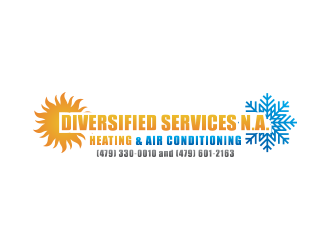 Diversified Services N.A. logo design concepts #6