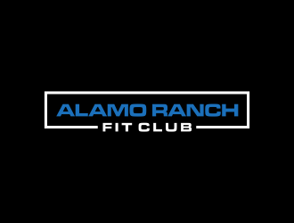 Alamo Ranch Fit Club logo design concepts #1