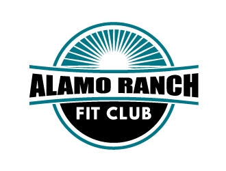 Alamo Ranch Fit Club logo design concepts #13