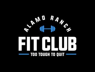 Alamo Ranch Fit Club logo design concepts #14