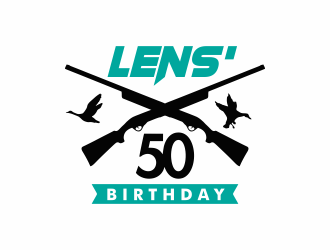 Lens 50th Birthday logo design concepts #3