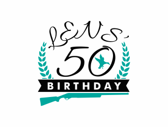 Lens 50th Birthday logo design concepts #7
