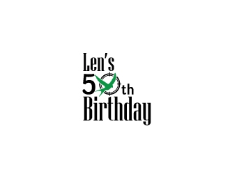Lens 50th Birthday logo design concepts #10