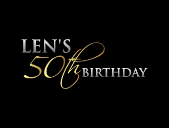 Lens 50th Birthday logo design concepts #11