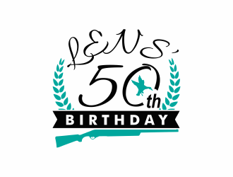 Lens 50th Birthday logo design concepts #13
