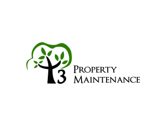 T3 Property Maintenance  logo design