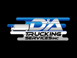 D&A Trucking Services INC logo design