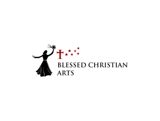 BLESSED CHRISTIAN ARTS logo design concepts #2