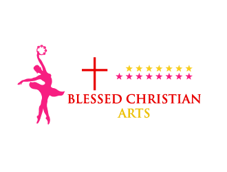 BLESSED CHRISTIAN ARTS logo design concepts #5