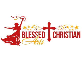 BLESSED CHRISTIAN ARTS logo design concepts #7