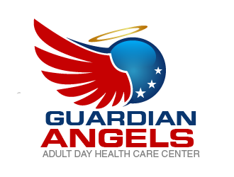 Guardian Angels Adult Day Health Care Center logo design concepts #6