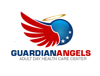 Guardian Angels Adult Day Health Care Center logo design concepts #7