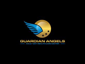 Guardian Angels Adult Day Health Care Center logo design concepts #8