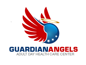 Guardian Angels Adult Day Health Care Center logo design concepts #10