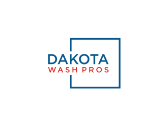 Dakota Wash Pros logo design concepts #1