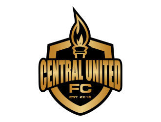 Central United F.C. logo design