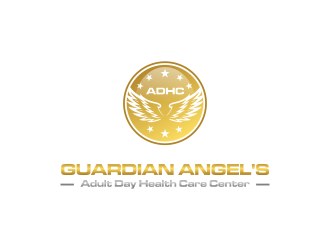 Guardian Angels Adult Day Health Care Center logo design concepts #1