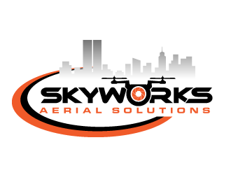 Skyworks Aerial Solutions logo design