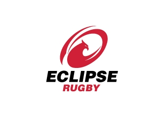 Eclipse Rugby logo design concepts #4