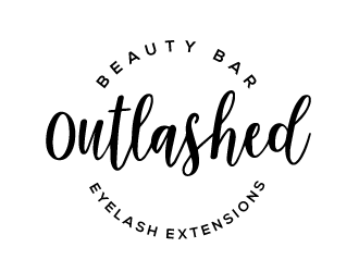 Outlashed Beauty Bar logo design concepts #1