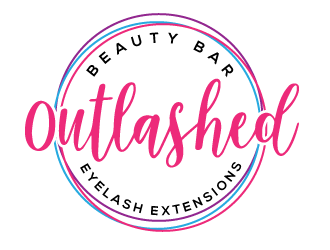 Outlashed Beauty Bar logo design concepts #2
