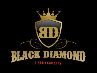 Black Diamond T-Shirt Company logo design concepts #1