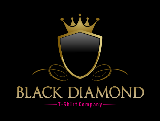 Black Diamond T-Shirt Company logo design concepts #3