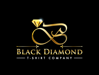 Black Diamond T-Shirt Company logo design concepts #4