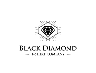 Black Diamond T-Shirt Company logo design concepts #6