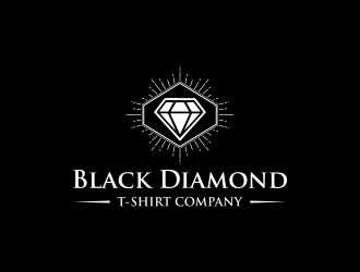 Black Diamond T-Shirt Company logo design concepts #7