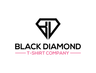 Black Diamond T-Shirt Company logo design concepts #9