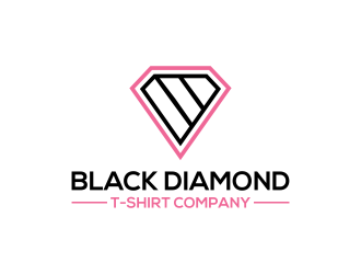 Black Diamond T-Shirt Company logo design concepts #10