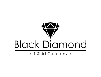 Black Diamond T-Shirt Company logo design concepts #11