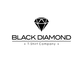 Black Diamond T-Shirt Company logo design concepts #12