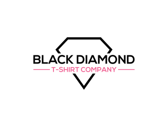 Black Diamond T-Shirt Company logo design concepts #13