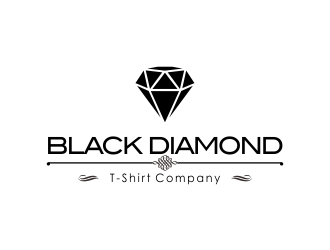 Black Diamond T-Shirt Company logo design concepts #14