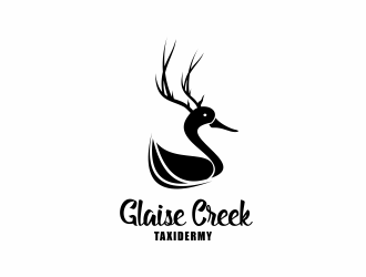 Glaise Creek Taxidermy logo design concepts #2