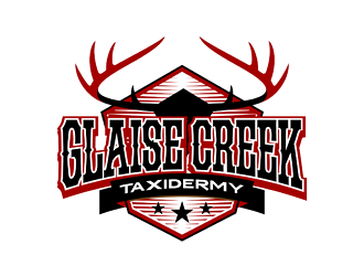 Glaise Creek Taxidermy logo design concepts #6